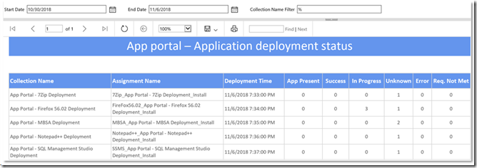 Monitoring Application Deployment Failures in Configuration
