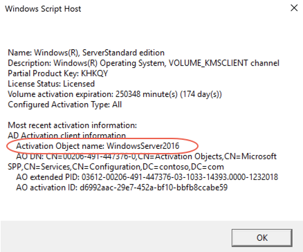 Understanding Volume Activation Services – Part 2 (Active Directory