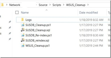 Using 'Scripts' Feature in Configuration Manager for Ad Hoc WSUS