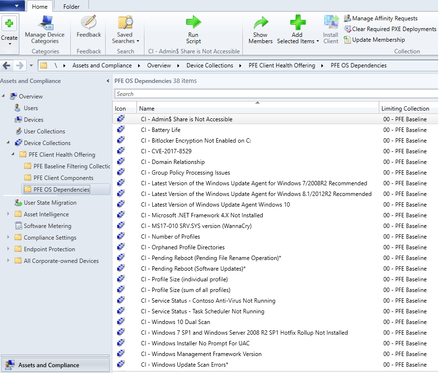 System Center Configuration Manager Client Health – Toolset