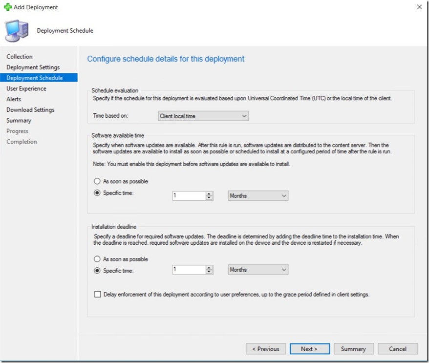 Office 365 ProPlus – End to End Servicing in Configuration Manager