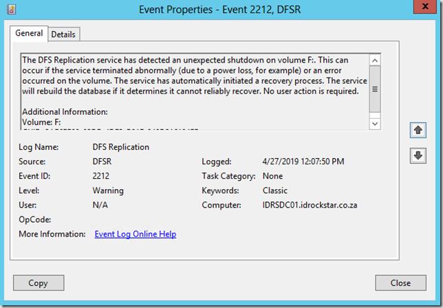 Event ID 2212