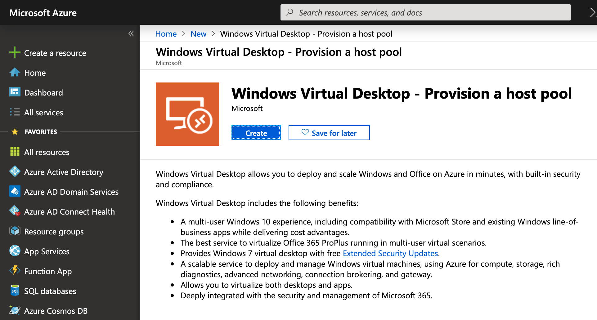 Deploying Windows Virtual Desktop on Azure – Step by Step