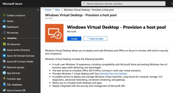 Deploying Windows Virtual Desktop on Azure – Step by Step