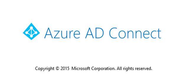 Azure AD Connect splash