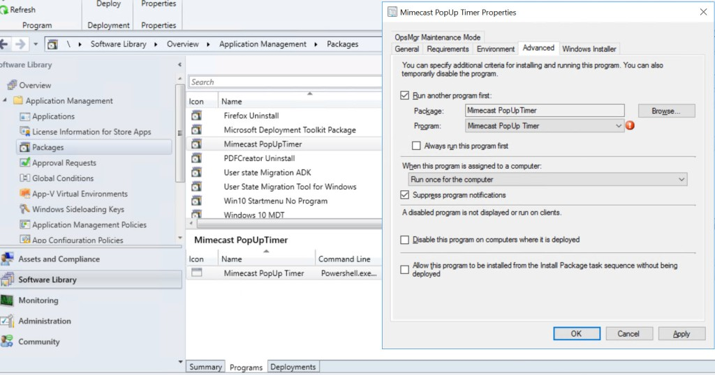 """Infrastructure – System Center Configuration Manager – """"Deploying applications with the PowerShell Application Deployment Toolkit"""""""